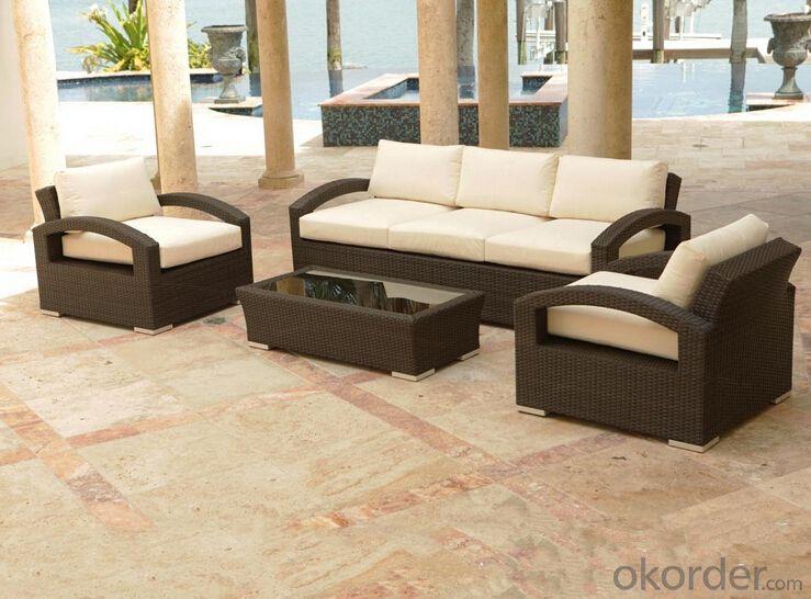 Outdoor Furniture Sofa Sets PE Rattan CMAX-WD0010