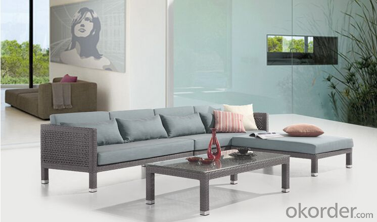 Outdoor Furniture Sofa Sets PE Rattan CMAX-WD0007