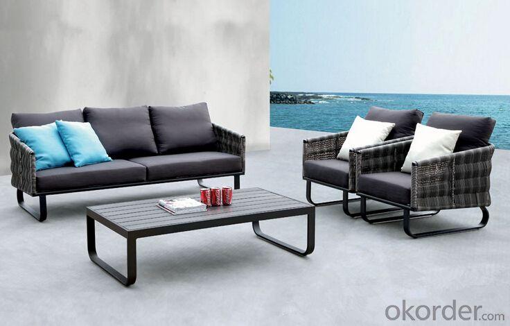 Outdoor Furniture Sofa Sets PE Rattan CMAX-WD0012