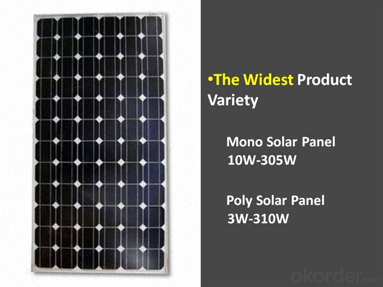 Solar Panel 245Wp special for Off-grid Solar Power System Paneles Solares