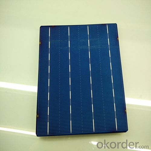 Poly 156X156mm2 Solar Cells Grade A