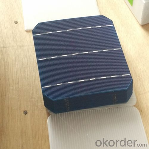 Poly 156X156mm2 Solar Cells Made in China