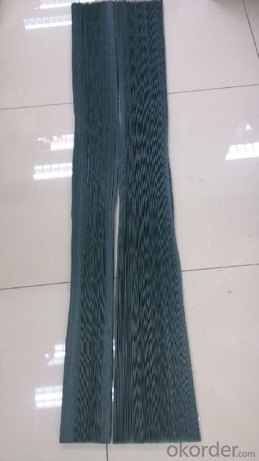 Plisse Polyester Insect Screen/Plisee Fiberglass Insect Screen/Plisse Window Screen
