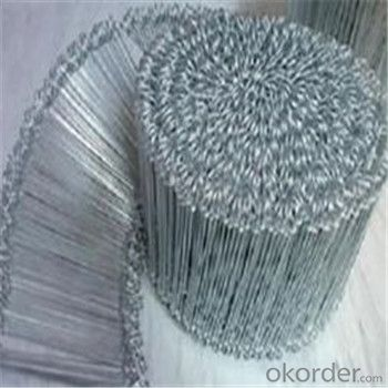 Loop Tie Wire Type Binding Wire Function Black or Galvanized