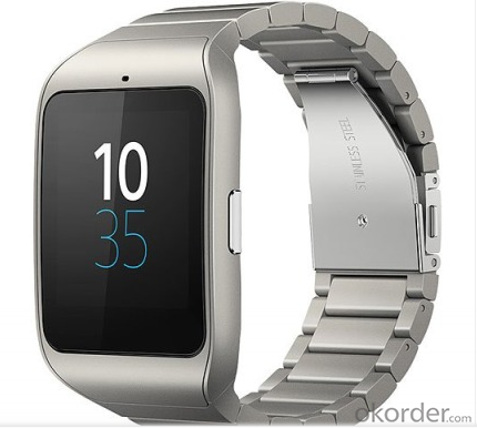 Android Smart Watch With Stainless Steel Case Wholesale Best Selling New Arrival 1.54 Inch