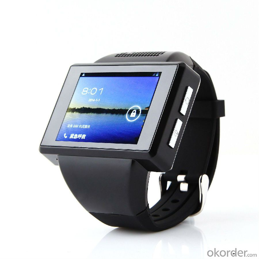 Touch Screen GSM Android Smart Watch, 3G Android/ios Smartwatch, Phone Calling Support Android