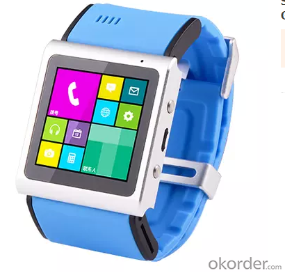 Bluetooth Smart Watch W8 for IOS and Android with Touch Screen MTK6260A Smartwatch Synchronization