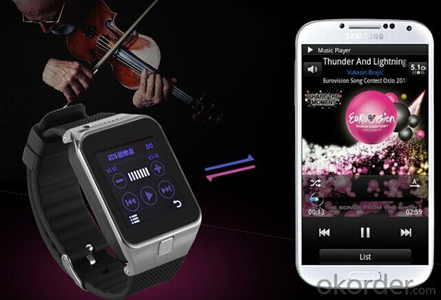 Sport Heart Beat Android Wifi Smart Watches for Iphone 6,Samsung,HTC