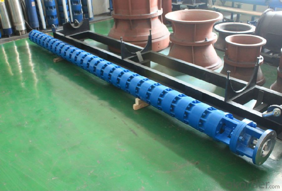Deep Well Borehole Submersible Centrifugal Water Pump