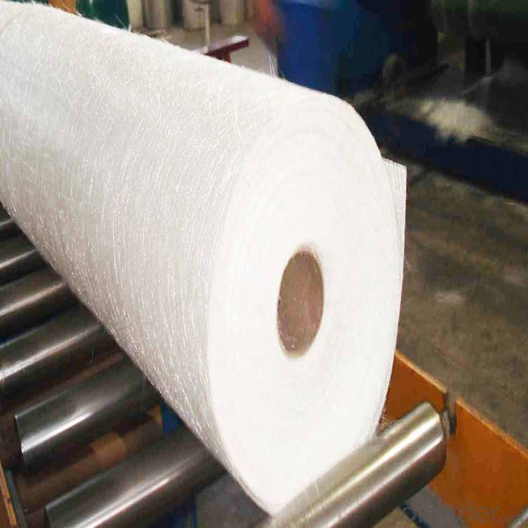 Glass Fiber Chopped Strand Mat for FRP Pipe /Heated Floor Mat