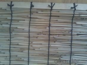 Reed Garden Fencing Decoration Black Yard