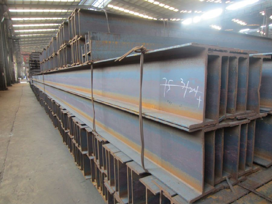 Hot Rolled Steel H-BEAM JIS SS400 GB Q235 OR Equivalent