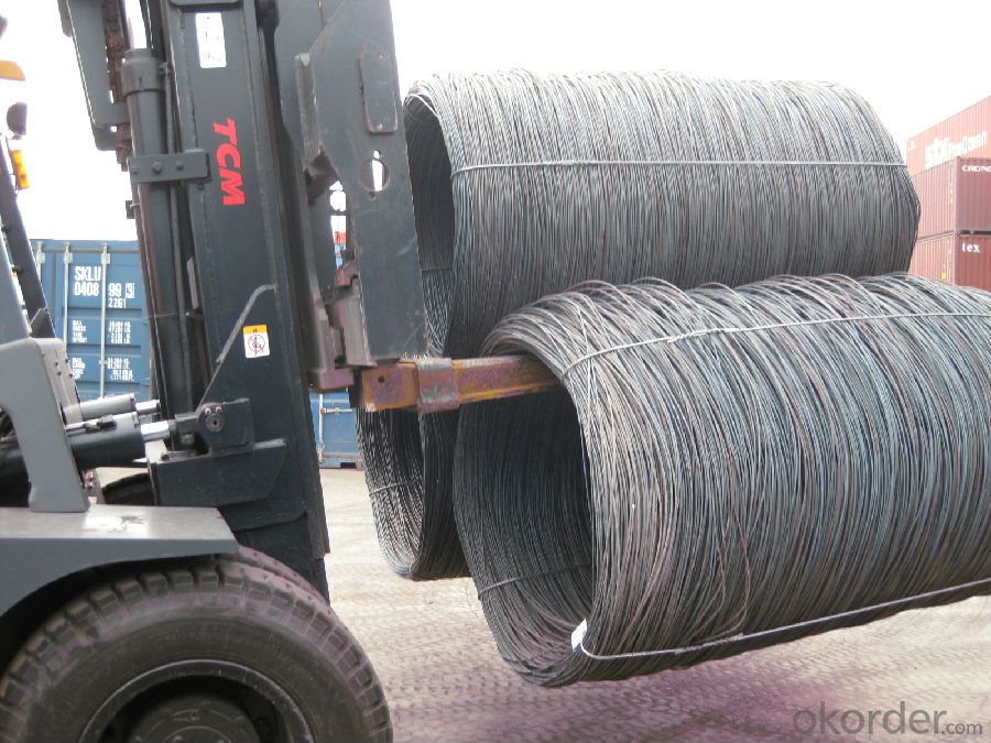 SAE1006Cr Carbon Steel Wire Rod 15.5mm for Welding