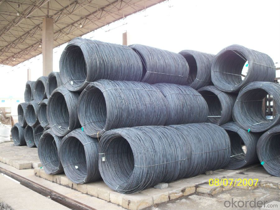 SAE1006Cr Carbon Steel Wire Rod 6.5mm for Welding