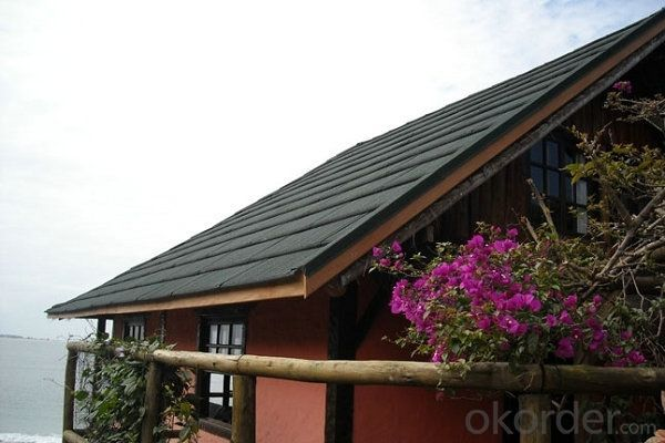 Anti-rust Steel Sheet Metal Roofing Tiles