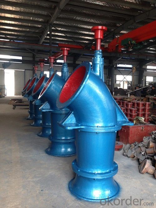 Axial Flow Pump Vertical Position with High Quality