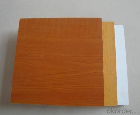 Solid Colors Melamine MDF Melamine Faced MDF Boards