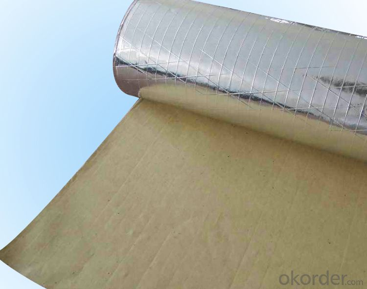 Insulation Facing material with Bubble and Aluminum Foil