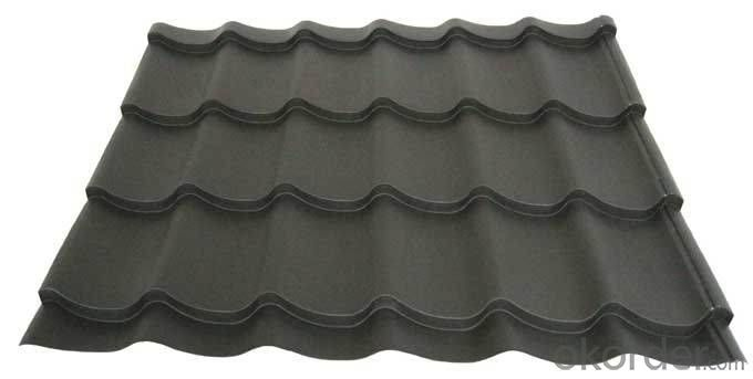 Durable Shingle Sun Stone Coated Metal Roof Tile