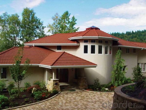 Stone Coated Metal Roof Tile of Classical Type