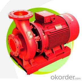 Horizontal Fire Fighting Water Centrifugal Pump