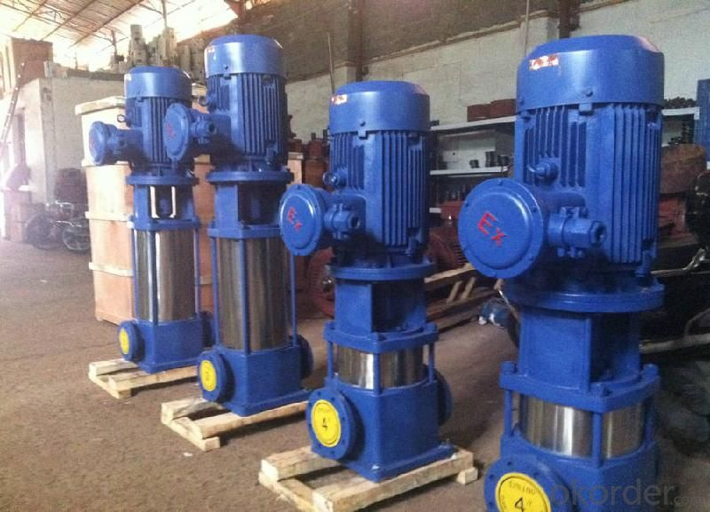 Vertical Multistage Booster Centrifugal Pump