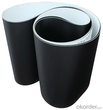 Black Diamond PVC Conveyor Belt for Entertainment,Fitness,Treadmill