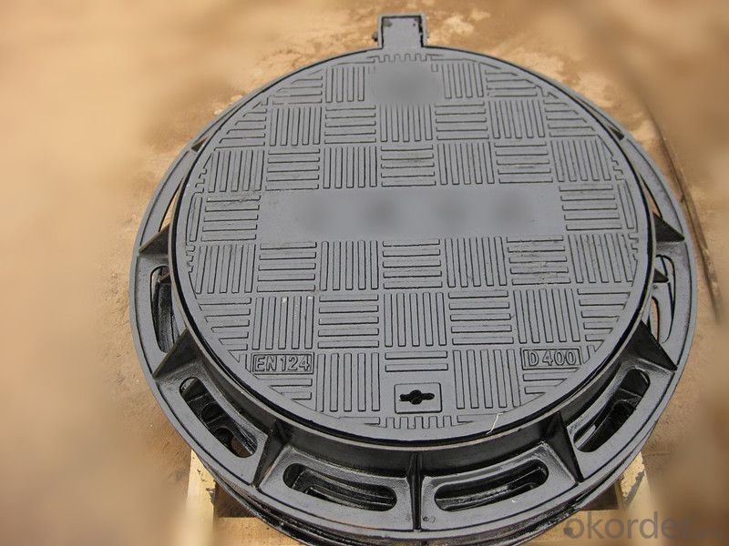 Manhole Cover Ductile Iron and Grating GGG50 D400
