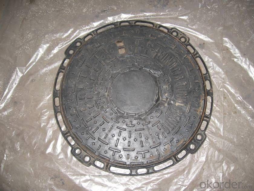 Ductile Iron Manhole Cover EN124 Class B125