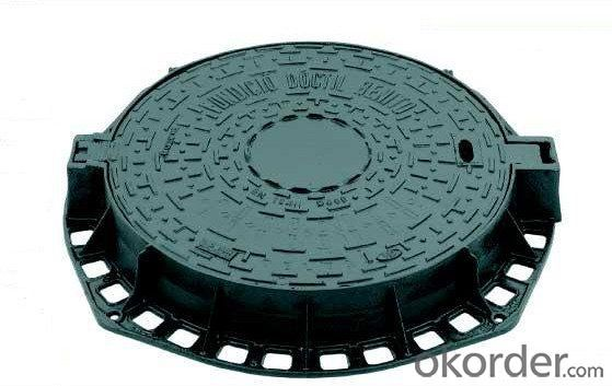 Manhole Covers Ductile Iron GGG50 D400 EN124