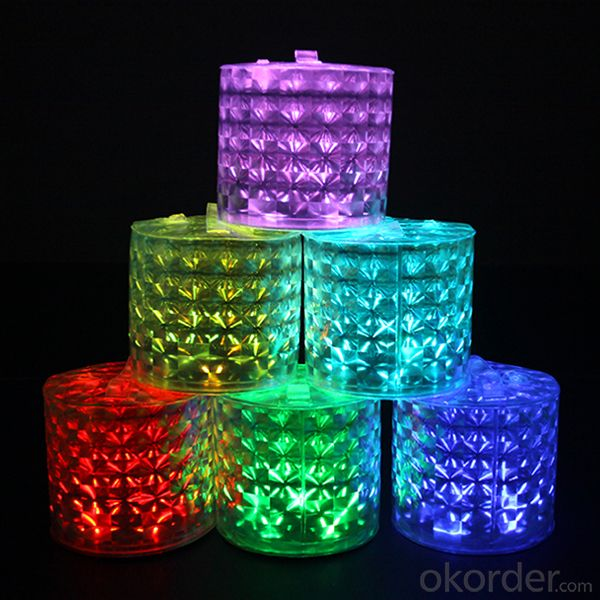 Remote Control Color-Changing Inflatable Solar Lantern