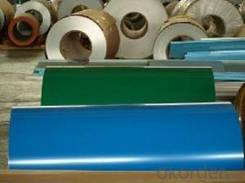 Gutter Roof Aluminium Coil PE PVDF Color Coated Coil