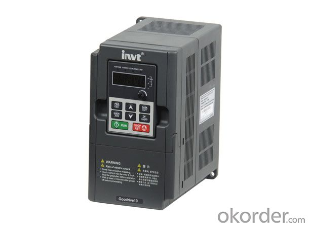 Goodrive10 series mini inverter with full certification