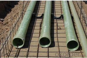 Fiberglass Pipe with Fire Retardent and Anti-Corrosion