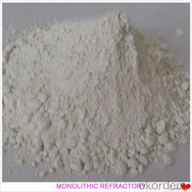 Fireclay Castable For Fireplace and Industrial Furnace in Iron and Steel