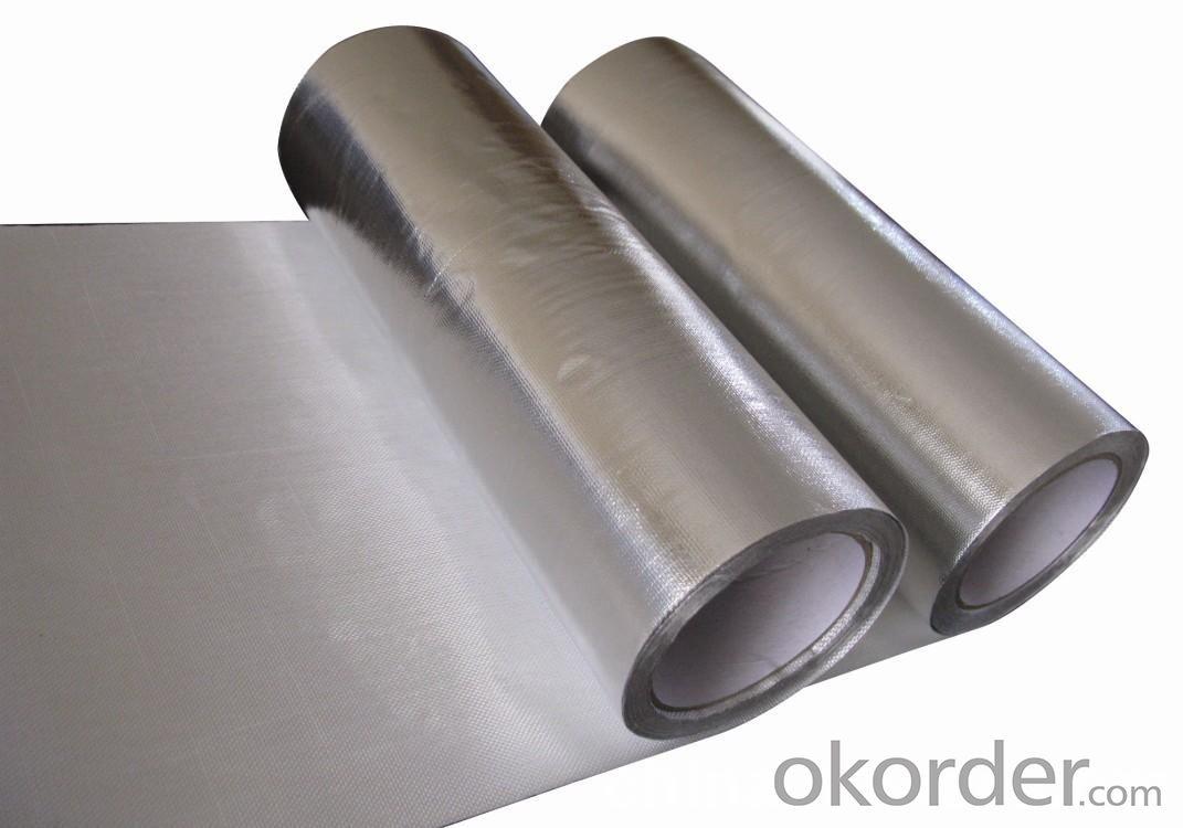 Tri-Way Fiberglass Scrim/Household Aluminum Foil/FSKV-7160A/7Micron Aluminum Foil