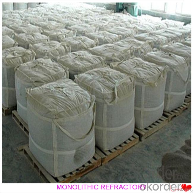 Corundum Castable For Fireplace and Industrial Furnace in Iron and Steel