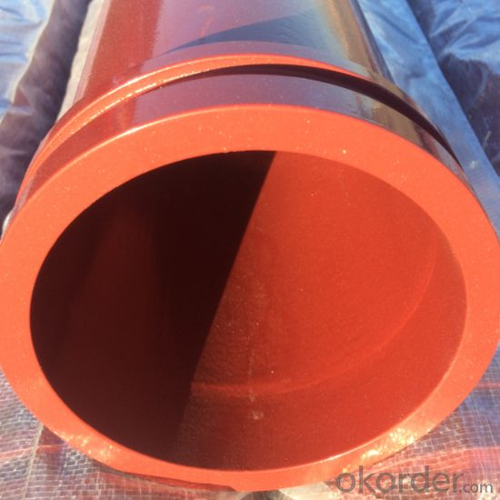 Concrete Pump Seamless Steel Pipe WT=4.0mm