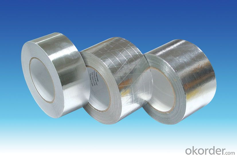 HAVC Solvent Insulation Self Adhesive Repair Roofing Aluminum Foil Tape