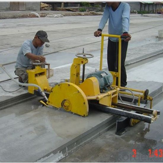 Automatic Precast Concrete Hollow Core Slab Cutter