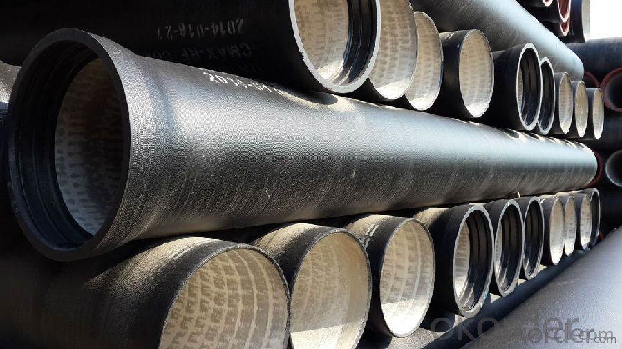 Ductile Iron Pipe Delivery Detail T type / K type EN545