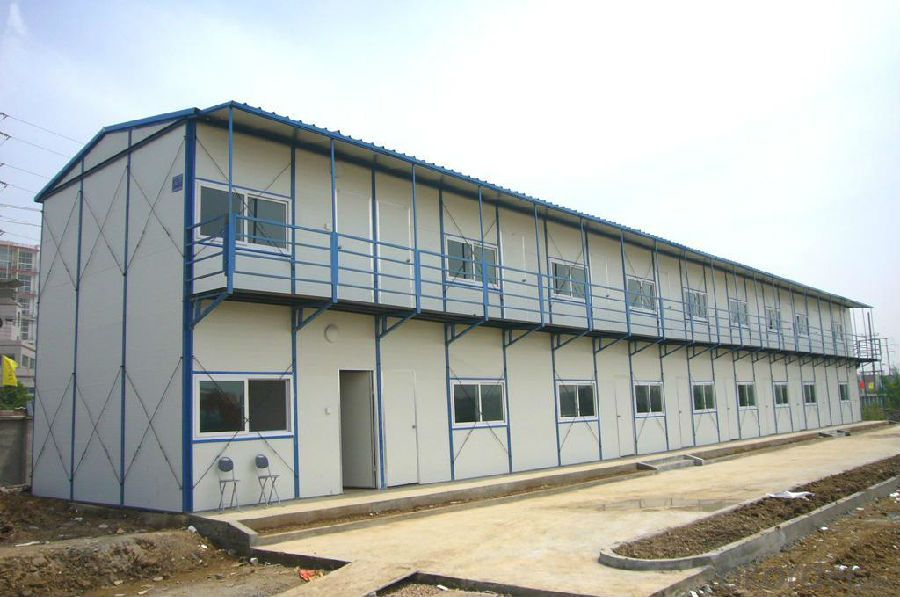 Sandwich Panel House with Safety and Good Quality