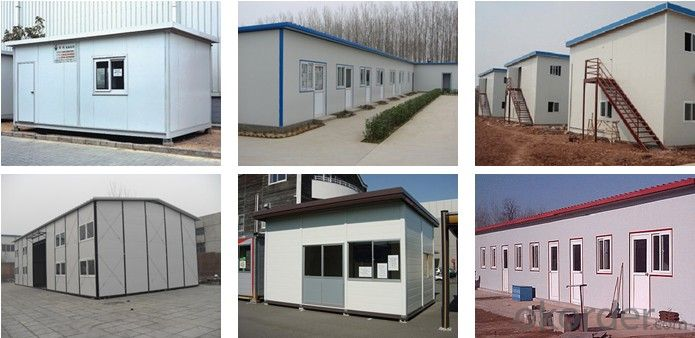 Sandwich Panel House Lastest Material on Sale