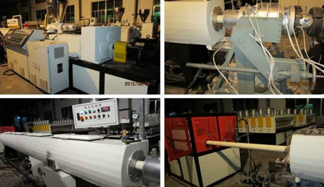 CNBM Twin Screw Extruder For Plastic Pipe