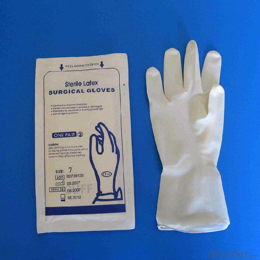 Medical Examination Latex Gloves, Powdered or Powder Free Made by MY MEDICAL