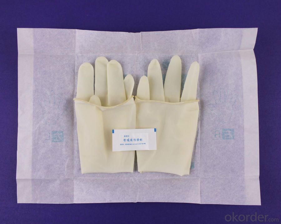 Custom Types of Disposable Hospital Medical Glove for Surgical Doctor X12