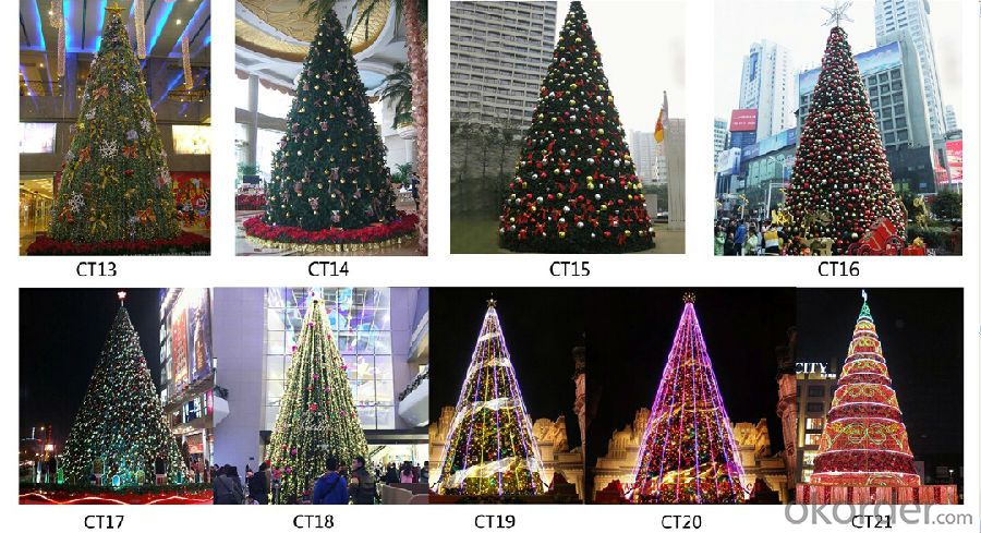Christmas Tree Outdoor Use of Big Size Decoration