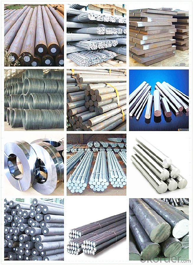Grade ASTM A36 Round Steel Bar Large Quantity in Stock