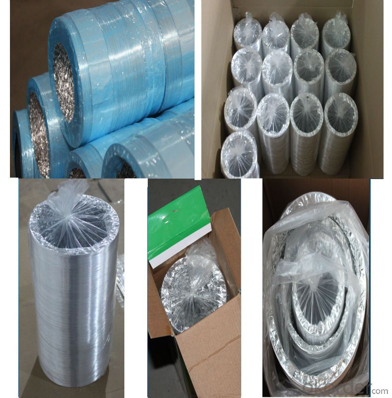 Insulation Products/High Temperature Pre-Insulated Flexible Duct