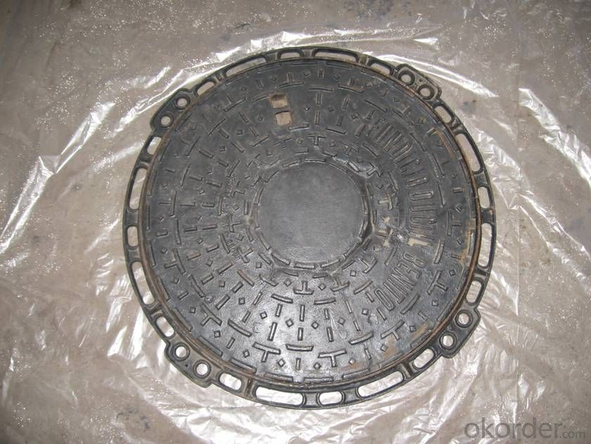 Manhole Cover Cast Iron EN124 Ductile from China